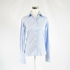 Thomas Pink light blue pinstripe blouse 2